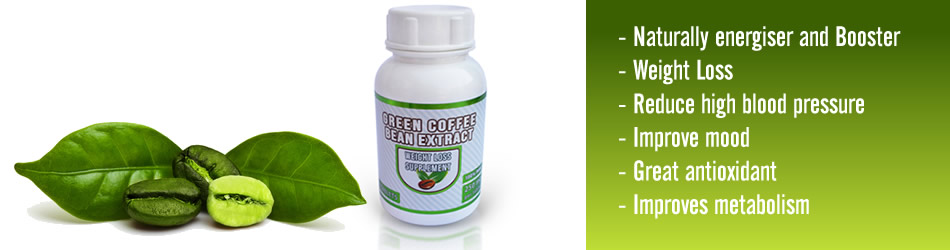where can i find green coffee bean in south africa